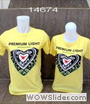 baju couple heineken kuning