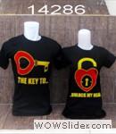 baju couple hitam kunci gembok