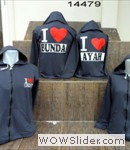 Jaket Couple love ayah bunda(abu)