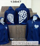 Jaket couple love korea